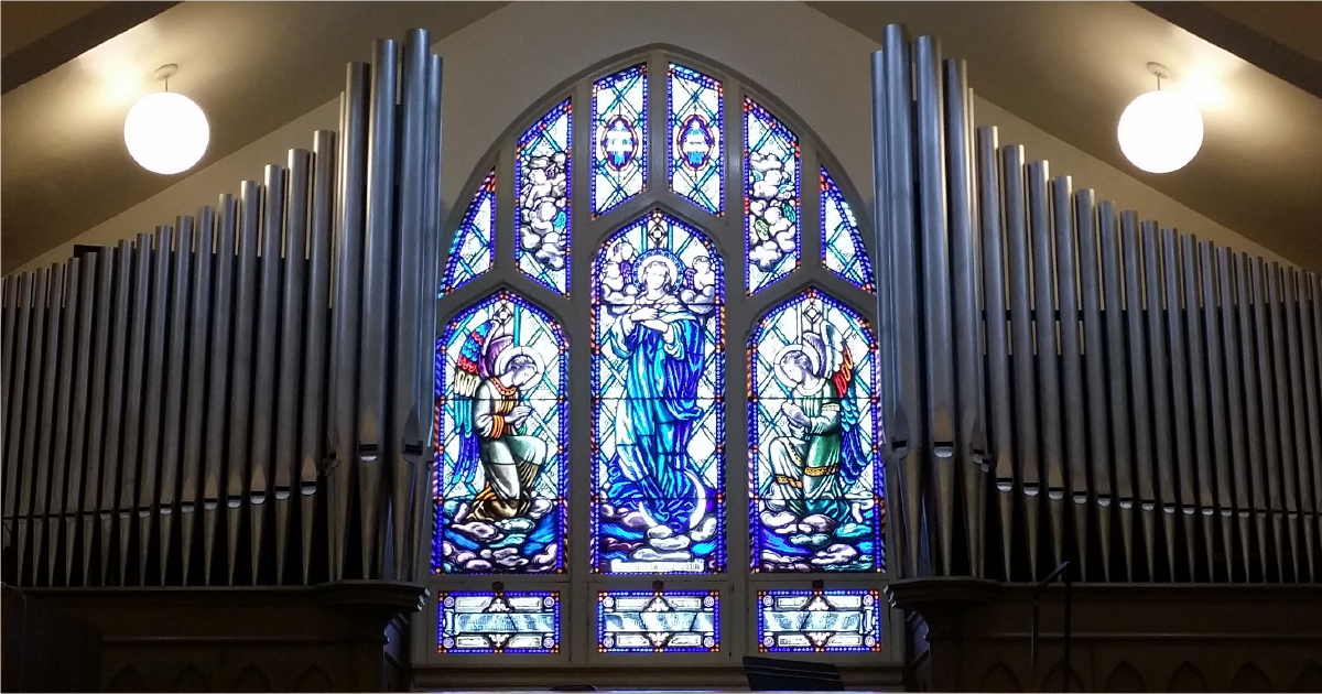 New Organ Installed At St. Mary's Catholic Church in Moscow, Idaho